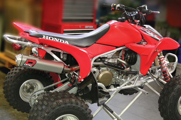 Honda TRX450R (06-13) Comp Slip On Exhaust